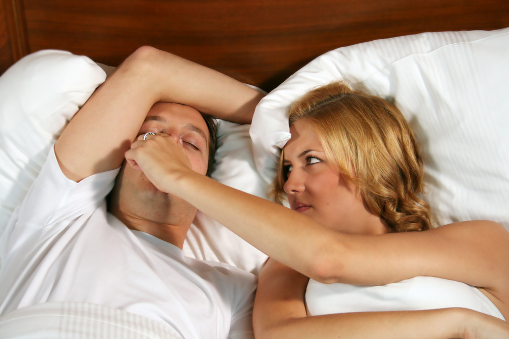 Is your snoring caused by an allergy?